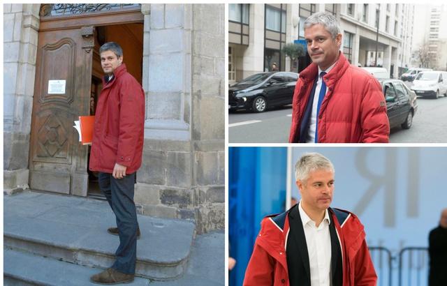 #EnBref : le rembourrage de la doudoune d'hiver de Laurent Wauquiez est composé à 80% de poils de sourcils de François Fillon