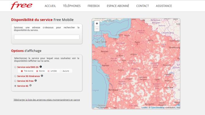 3G/4G Free : Xavier Niel avoue finalement que la carte officielle de couverture mobile a été coloriée par sa fille de 6 ans