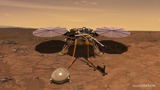Une semaine après son arrivée sur Mars, la sonde InSight dit déjà s'ennuyer