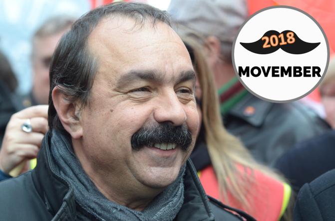 #EnBref : Philippe Martinez remporte le concours Movember pour la 3ème année consecutive