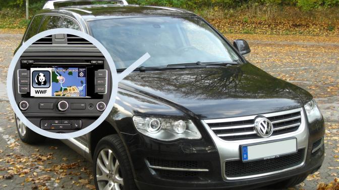 Volkswagen (groupe VAG) lance l'appli embarquée «WWF» pour localiser plus facilement les stations-services
